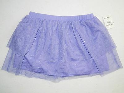 Disney Fairies Girl's Skort / Skirt Purple 100% Polyester NWT Size 6