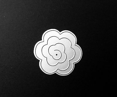 Rolled Flower Metal Cutting Die For Scrapbooking And Card Making