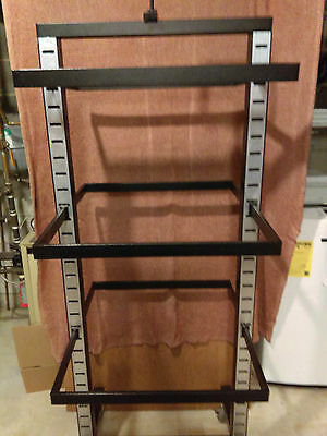 Heavy Duty Commercial Clothing Display Rolling Rack