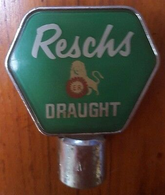 Rare Vintage Reschs Draught Beer Tap