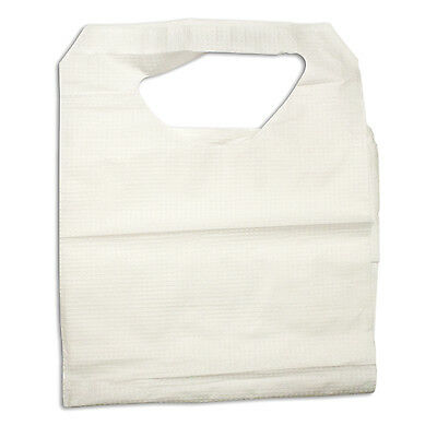 Disposable Dental and Tattoo Bibs, Poly Construction 16x33 #4405