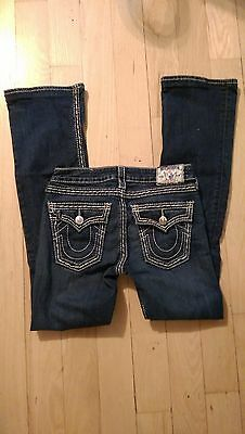 TRUE RELIGION Women's High-Rise Boot Cut Jeans SIZE 27 LIKE NEW!!