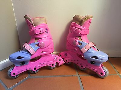 Disney Princess Roller Blades Adjustable Size 12-2