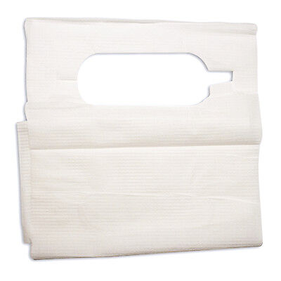 Disposable Lab Slipover Dental and Tattoo Bibs, Poly Construction 16x33 #4406