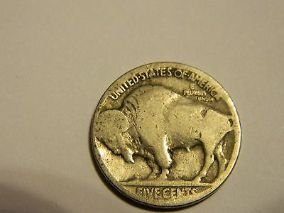 1917 P Buffalo Nickel Acid Recovered Date --INV162