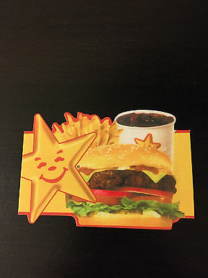 HARDEE'S COMBO MEAL CARDS...NO EXPIRATION...one day sale!!