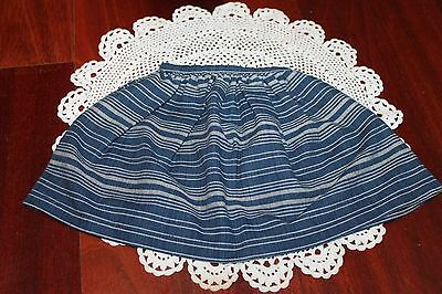 American Girl Doll Josefina's RETIRED Indigo School Skirt! EUC!