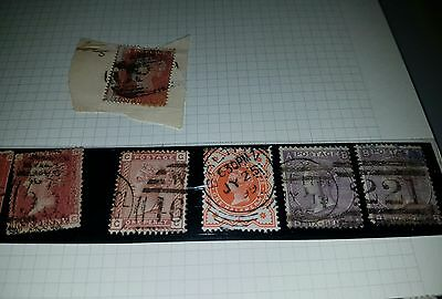 collection of Penny red stamps, Queen Victoria