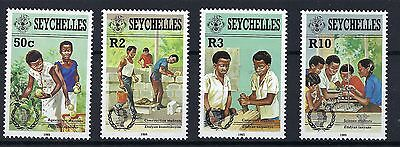 Seychelles 1985 Youth Year SG 624/7 MNH POST FREE TO THE UK.