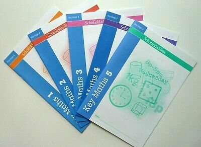 Schofield and Sims Maths 5 Workbooks KS 1 & 2 Primary School Children Age 5-7