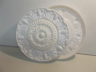 Ornate french style Ceiling Rose Silicone Rubber Mould