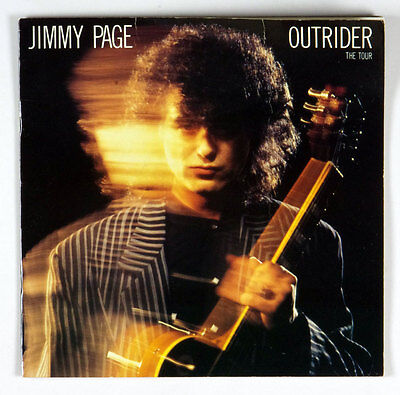 Jimmy Page OUTRIDER 1988 First Solo Tour Program book