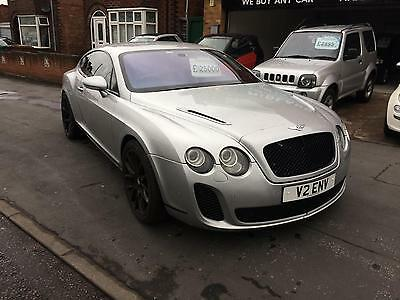 Bentley Continental 6.0 auto GT SUPERSPORTS CONVERSION EDITION 2004 04 Reg