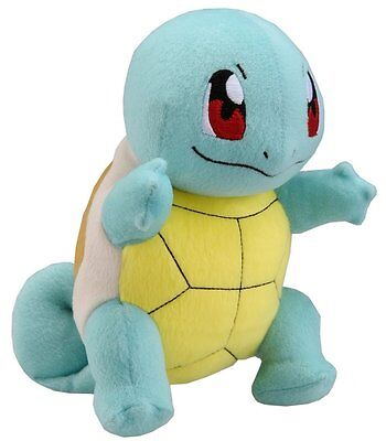 TOMY Pocket Monster Squirtle Pokemon XY Rare Soft Plush Toy Doll Gift 21CM