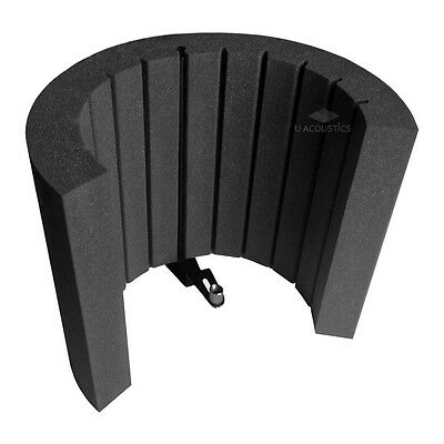 Reflection Filter Portable Microphone Vocal Booth/Pro audio Isolation Shield