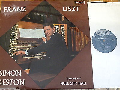 ZRG 503 Liszt Organ Music / Preston OVAL