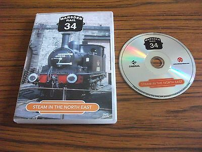 Marsden Rail 34 Steam In The North East DVD