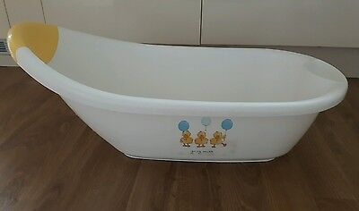 Mothercare Baby Bath with plug for ease of emptying