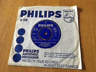 "Dusty Springfield - I Just Don't Know What To Do With Myself - 1964 7"" Ex"
