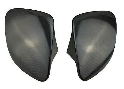 1993 1994 1995 1996 Mazda Rx-7 Rx7 Fd Carbon Fiber Headlight Covers Vented Set