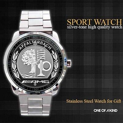 Exclusive Center Feature The Traditional AMG Style sport Metal Watch