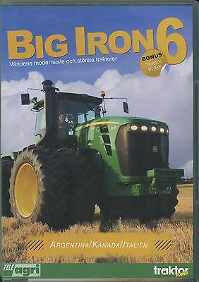 Big Iron Part 6, DVD The World's Newest and Biggest Tractors SWEDISH version