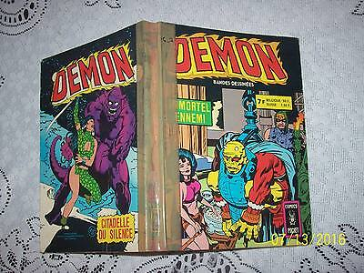 Recueil Demon   N° 3215  Aredit Artima  N° (7,8) Bon Etat  Comics Pocket