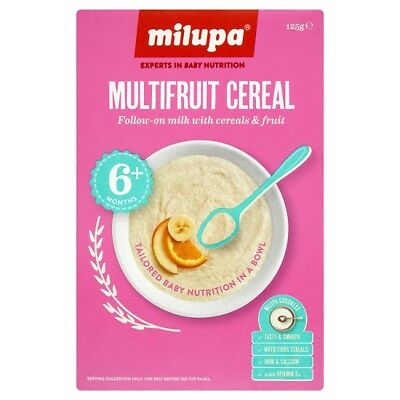 Milupa Multifruit Cereal 6 Plus Months 125 Grams