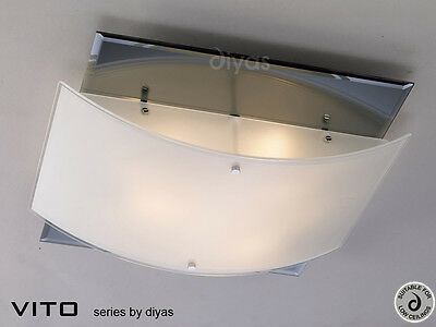 Vito Ceiling 3 Light Polished Chrome & Mirror