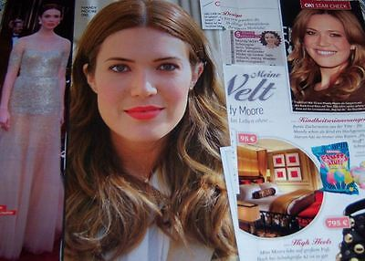Mandy Moore 67 pc German Clippings International
