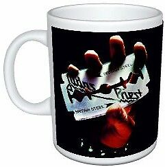 Judas Priest British Steel Artwork Colour Mug