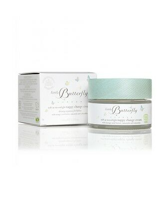 Little butterfly SOFT AS MOONLIGHT - Crema Cambio Pannolino naturale 50ml