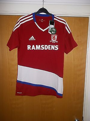 Brand New Middlesbrough Football Club (Boro) home shirt Size Small Mens