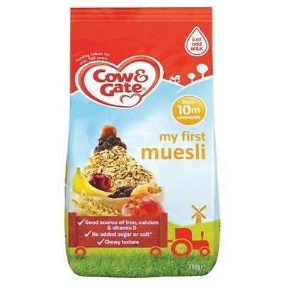 Cow And Gate My First Muesli 330 Grams 10 Mth+
