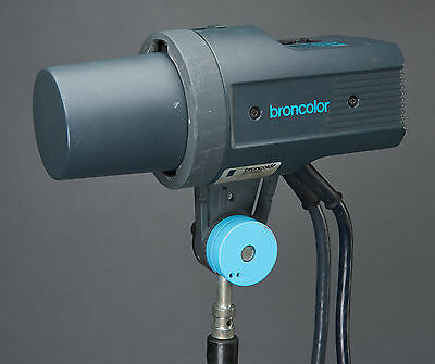 Broncolor Pulso Twin Studio Lighting Flash Head 2x 3200w