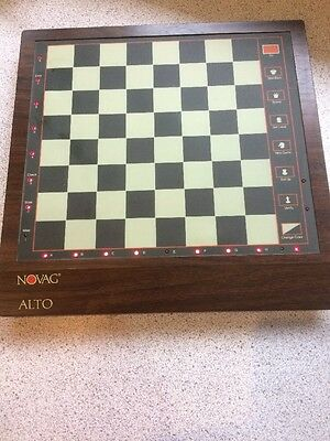 Untested Unit Only (no Mains Or Chess Pieces) Novag Alto -  Chess Computer