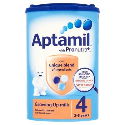 Aptamil Growing Up Milk Powder Stage Four 800 Grams 2-3 Years