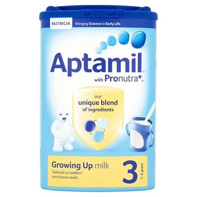 Aptamil 3 Stage Growing Up Milk Powder 1+ Years 900G