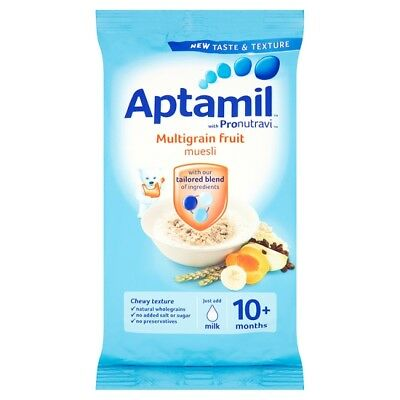 Aptamil Multigrain Fruit Muesli 275 Grams 10 Month Plus