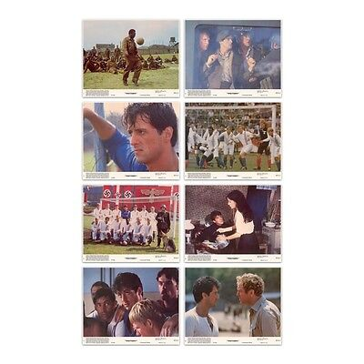 ESCAPE TO VICTORY Set of 8 Vintage Lobby Cards (PELÉ, Bobby Moore) Sports / War