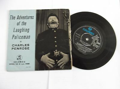 """Rare - The Adventures Of The Laughing Policeman  - 7"""" 45Rpm Single - C Penrose"""