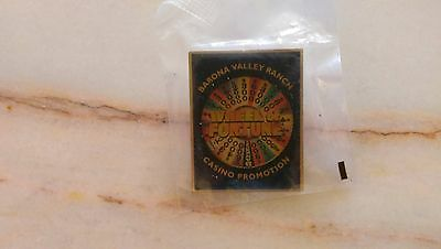 Barona Valley Ranch Casino Wheel of Fortune Promotional Pin