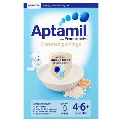 Aptamil Creamed Porridge 125 Grams 4-6 Months Plus