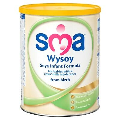 SMA Wysoy Soya Infant Formula 860 Grams from birth