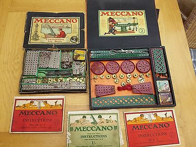 MECCANO ENGINEERING FOR BUYS SET No.2 INSTRUCTIONS 100's of pieces Booklets