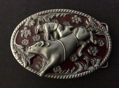 New Bull Riding Rodeo Belt Buckle