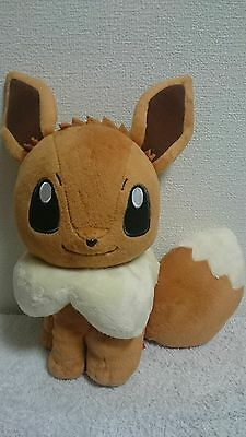 Banpresto  Eevee Big Plush Doll  I love eevee Pokemon Plush Japan New