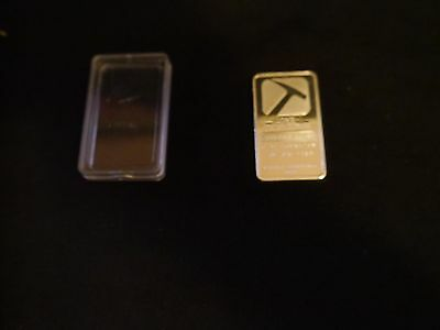 Silver plated bullion bar, medal coin Ingot Pan American Silver Corp troy ounce