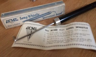 Acme song whistle probably 1950's