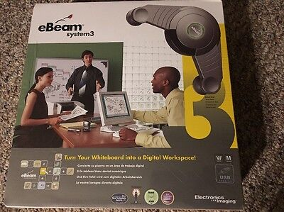 New Sealed eBeam System 3 For Whiteboard Presentations